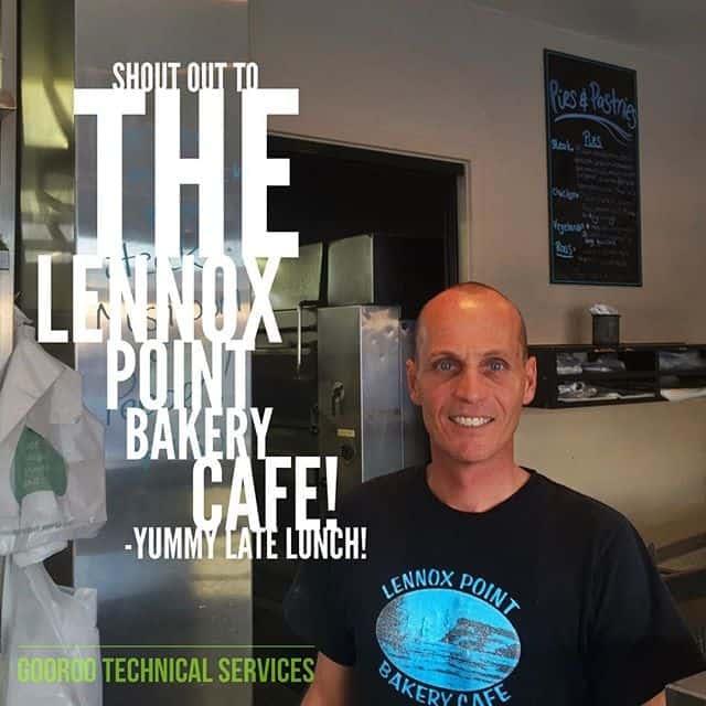 The Lennox Point Bakery Cafe in Lennox Head