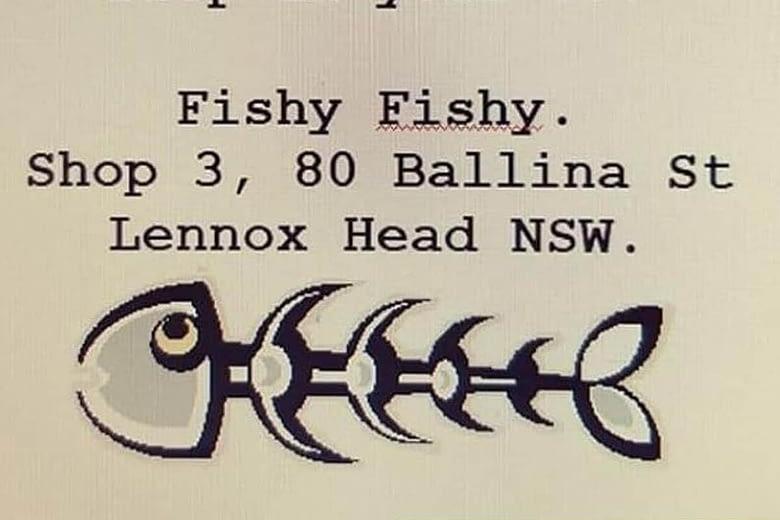 Helping out Fishy Fishy Lennox Head