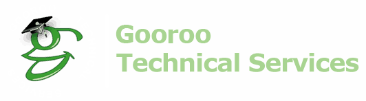 Gooroo Technical Services website computer logo