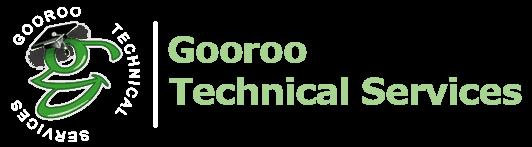 Gooroo Technical Services website computer logo