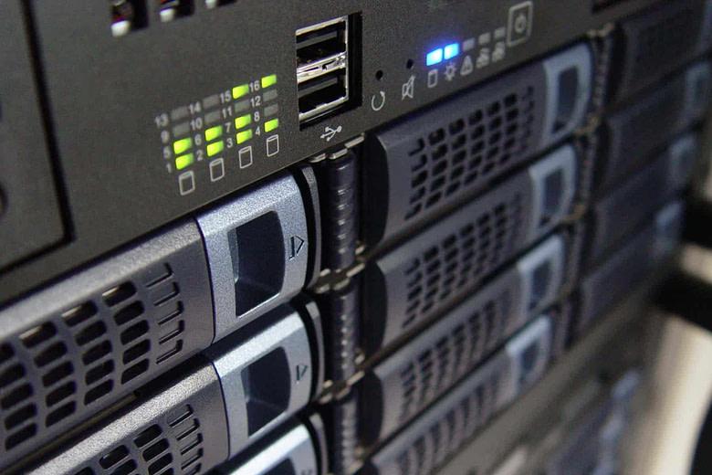 Windows server technology in rack