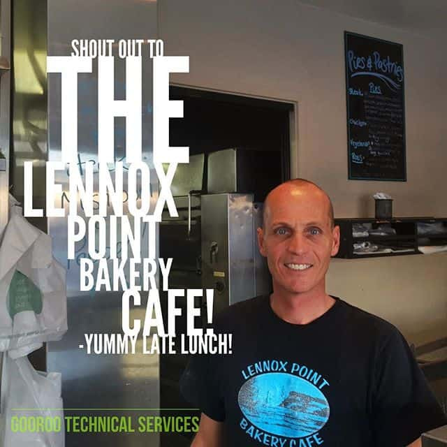 The Lennox Point Bakery Cafe in Lennox Head