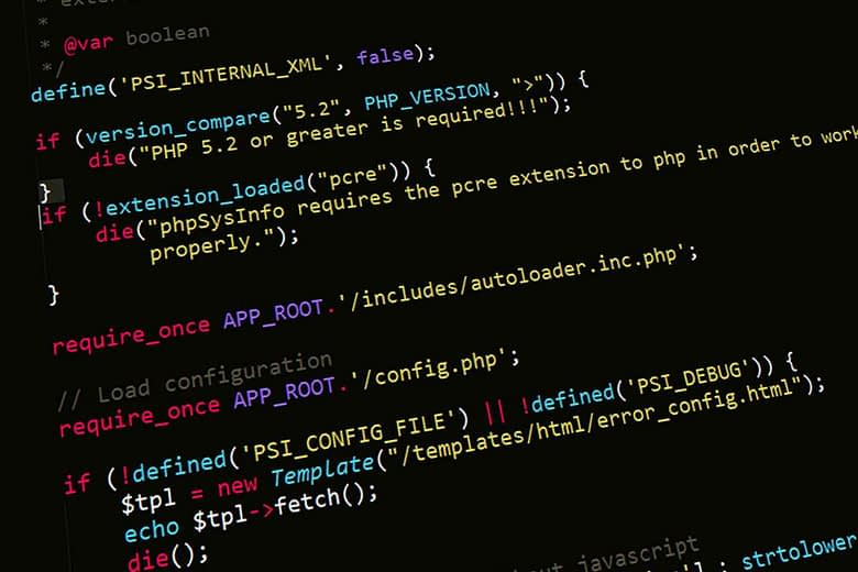 PHP coding and security script